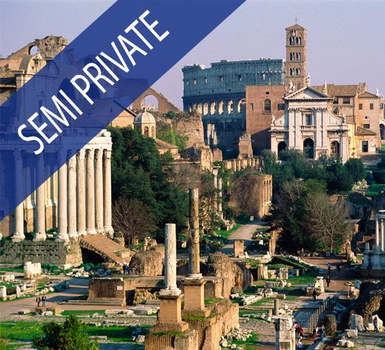 Private tour of ancient Roman ruins in Rome