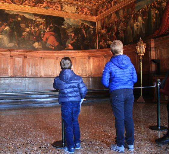 Private family tour discovering St Mark's treasures in Venice