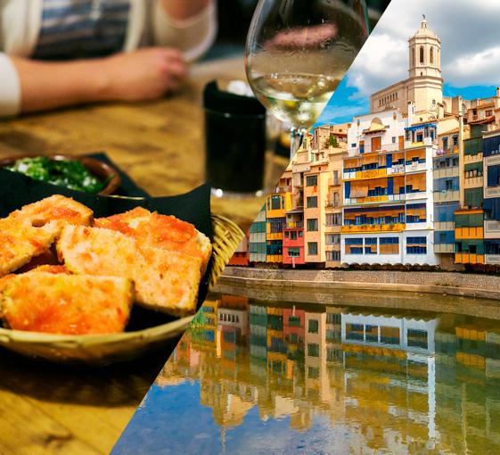 Private gastronomy tour in Girona