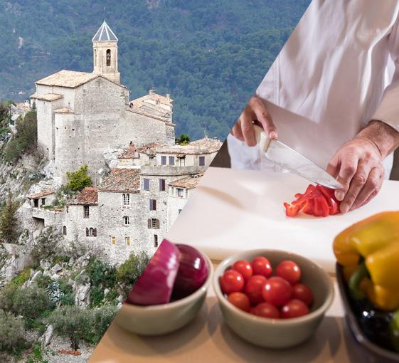 Private tour of Peille and Peillon and cooking lesson in French Riviera